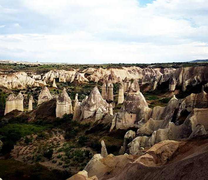 peri-bacaları kapadokya, nevşehir