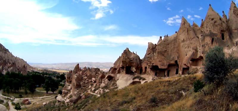 Zelve açık hava müzesi kapadokya gezilecek yerler
