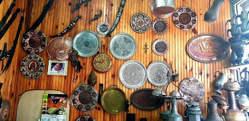 Bakır işleme sanatı Adana Eski Çarşı Adana gezilecek yerler