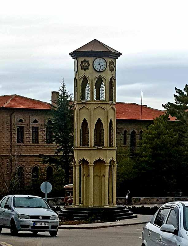 aksaray-saat-kulesi Aksaray gezilecek yerler