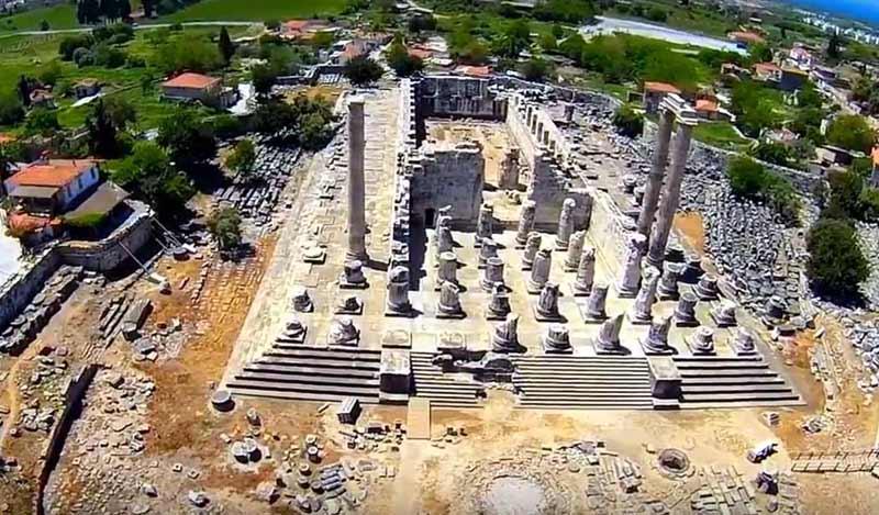 apollon-tapınağı-hava