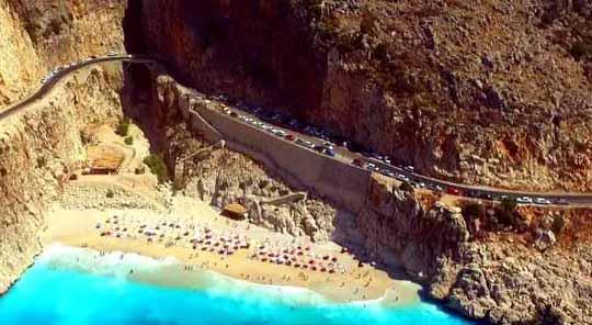 kaputaj plajı otopark sorunu
