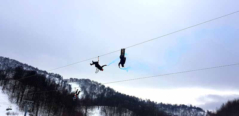 kartepe kayak merkezi eğlence