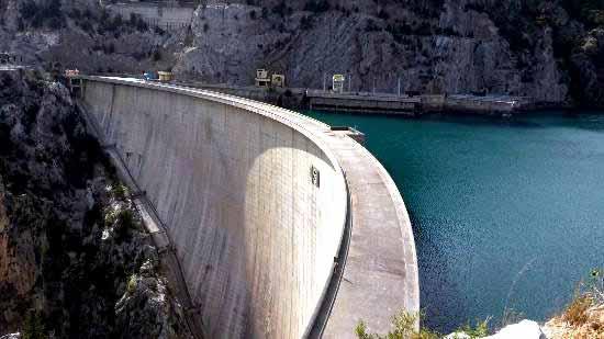 Oymapınar Barajı, manavgat Şelalesi