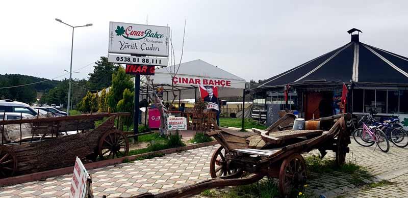 Pelitözü Göleti kafe restoranlar