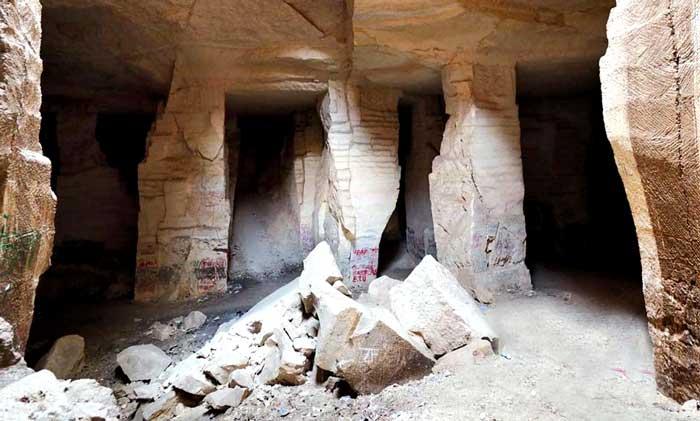 Harran bazda taş mağarası Harran gezilecek yerler