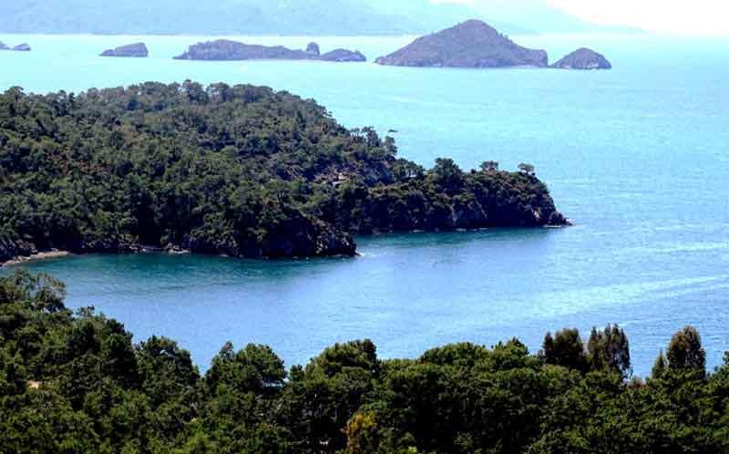 Fethiye katrancı koyu 12 adalar