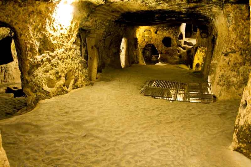 Kapadokya Kaymaklı yeraltı şehri gezisi