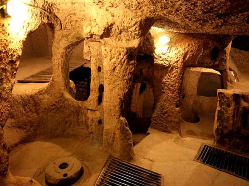 Kapadokya Kaymaklı yeraltı şehri gezimiz