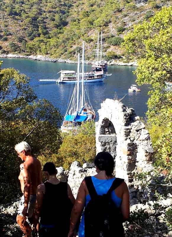 Fethiye Saint Nicolas gemiler adası