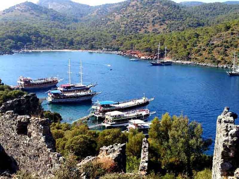 Fethiye Saint Nicolas Noel Baba gemiler adası
