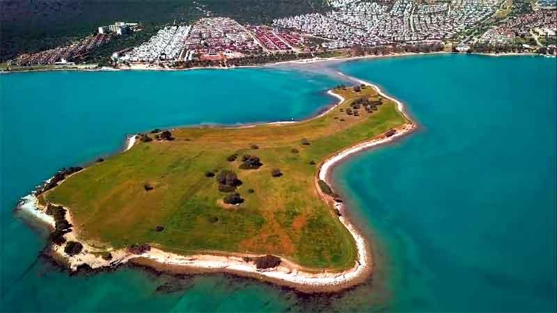 saplı-ada-akbük didim plajları ve tarihi yerleri
