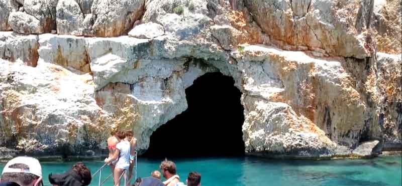 Korsan Mağarası Kekova tarihi ve doğası