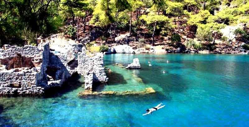 Tersane adası 12 adalar tekne turu