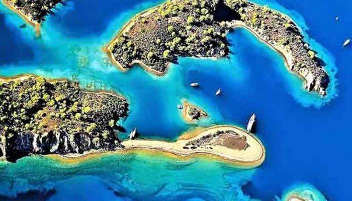 Fethiye 12 Adalar tekne turu gezisi