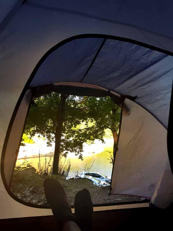 çadır kamp darlık