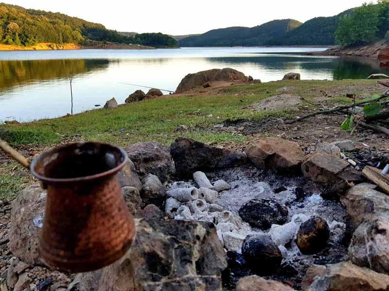 darlık barajı kahve keyfi