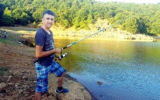 Şile darlık barajında balık tutmak