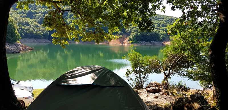 Şile darlık barajı kampı