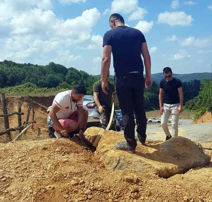 darlık barajı yolu kapandı
