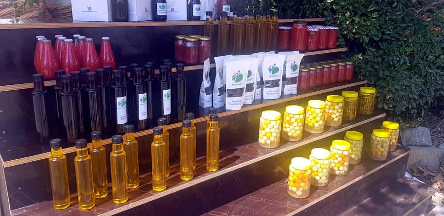 bozcaada organik ürünler