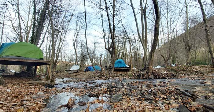 Yalova Erikli Çifte şelale kampı