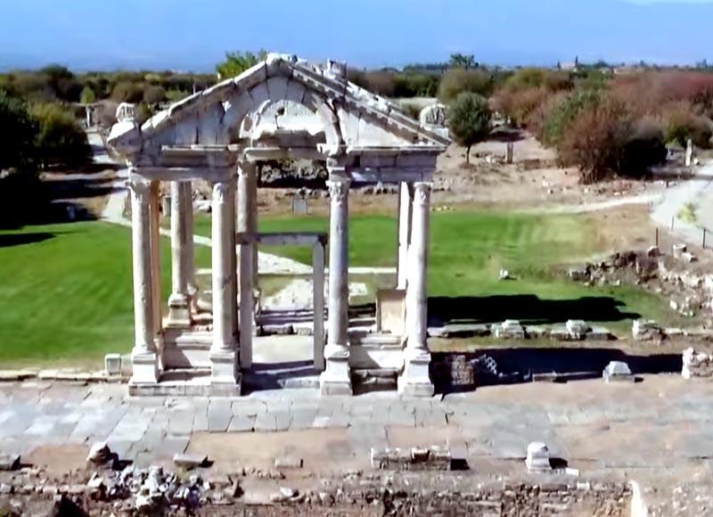 Afrodisias antik kent nerede