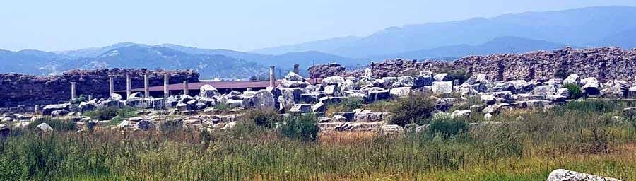 magnesia antik kenti nerede