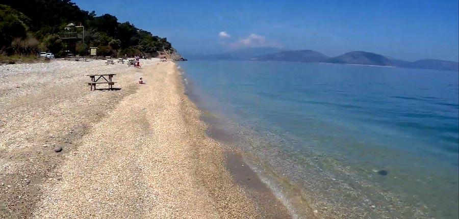 Dilekyarımdası milliparkı sahilleri