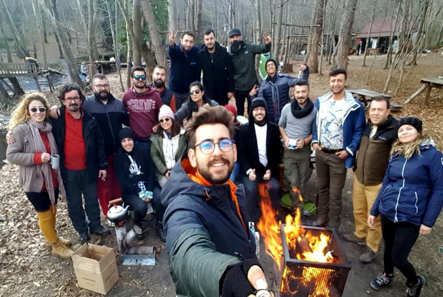 Yalova edikli kış kampı