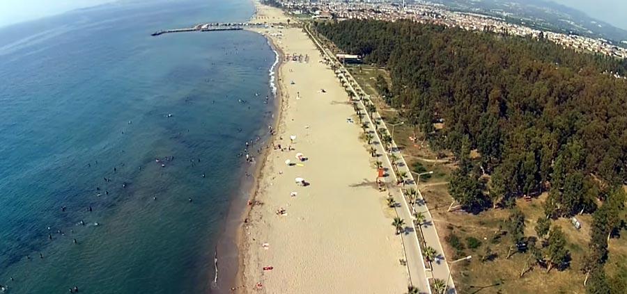 davutlar sevgi plajı kuşadası gezi notları