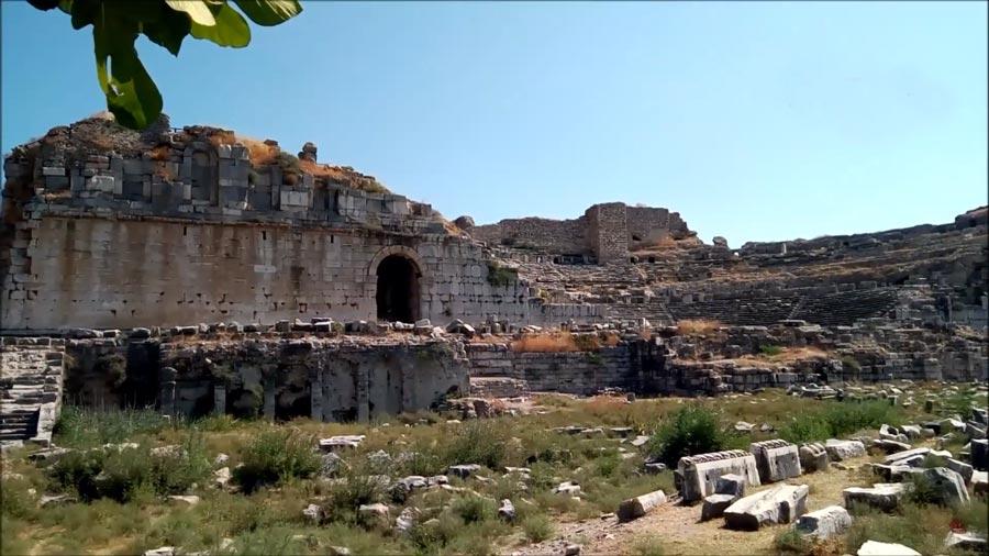 milet antik kenti aydın