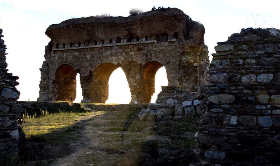 Aydın triales antik kent
