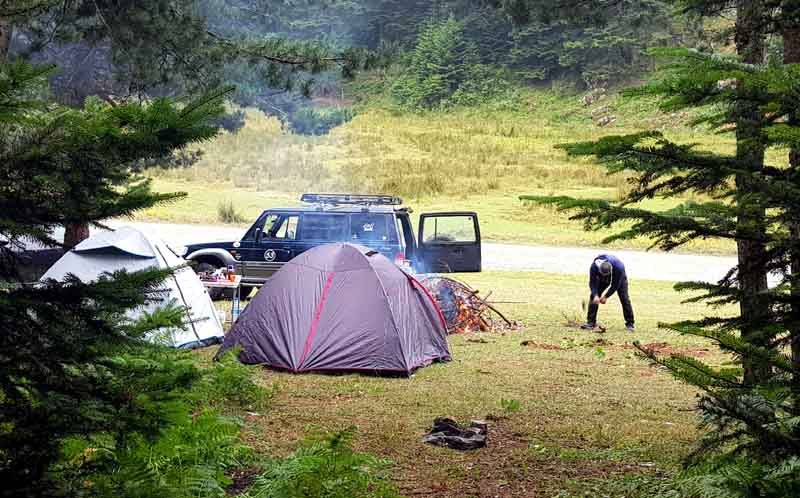 İnönü Yaylası kampı