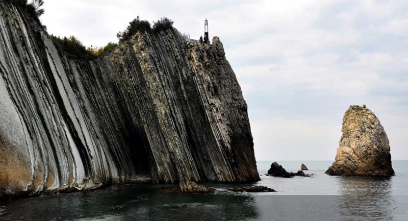 abana hacıveli kayalıkları nerede