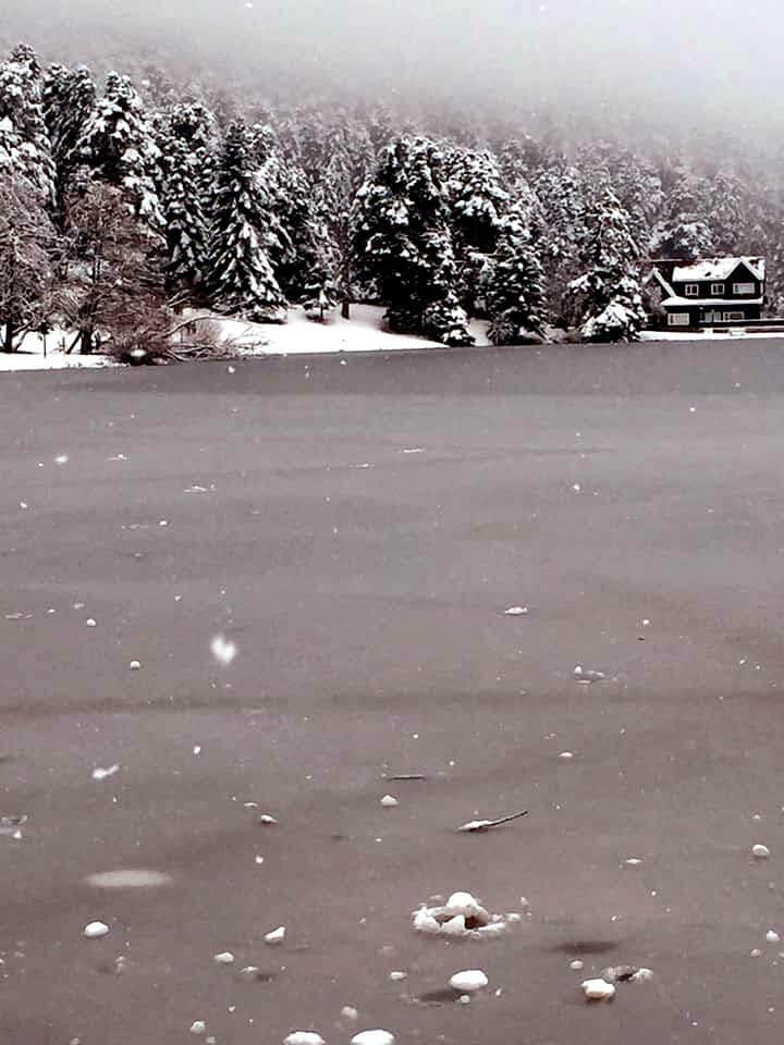 bolu abant kış fotoğrafları
