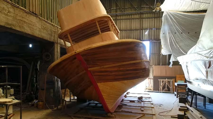 Alaplı tekne imalat atölyeleri