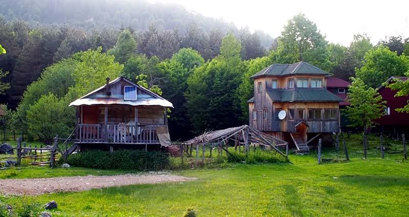 alaplı eski evleri