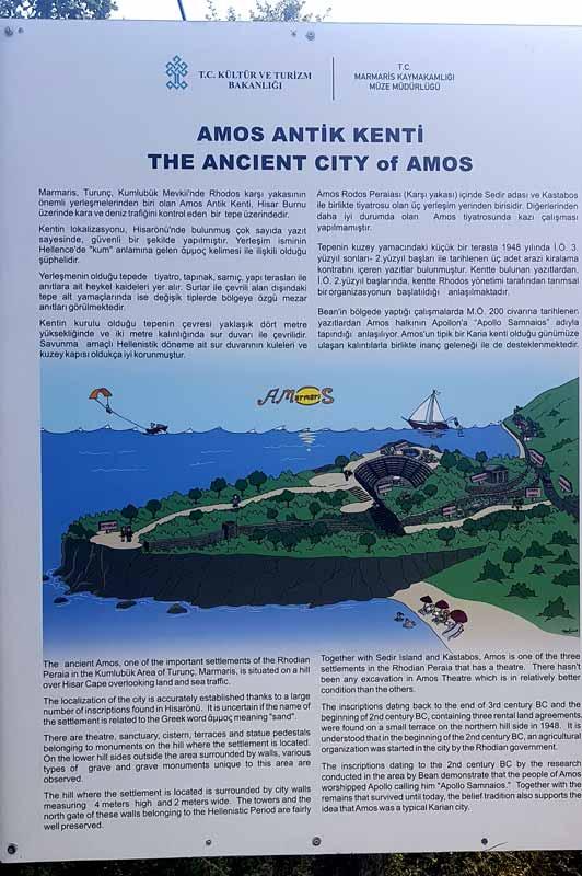 amos antik kent hakkında bilgi