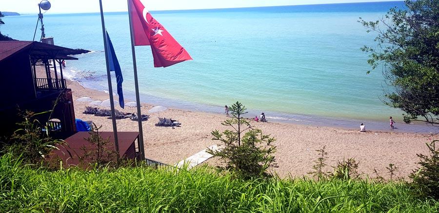Akçakoca ceneviz plajı ücreti 2020