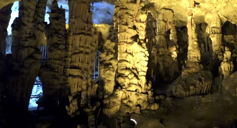 gilindire mağarası aynalı göl