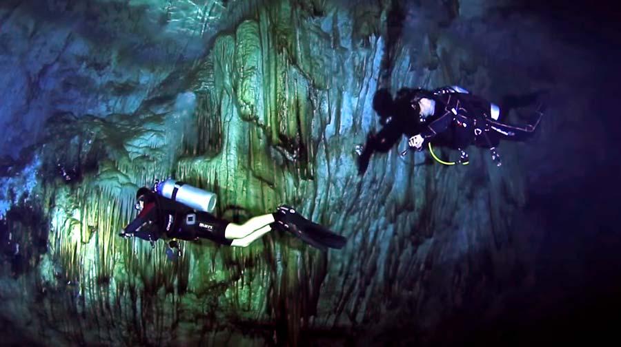 gilindira mağarası sualtı dalış