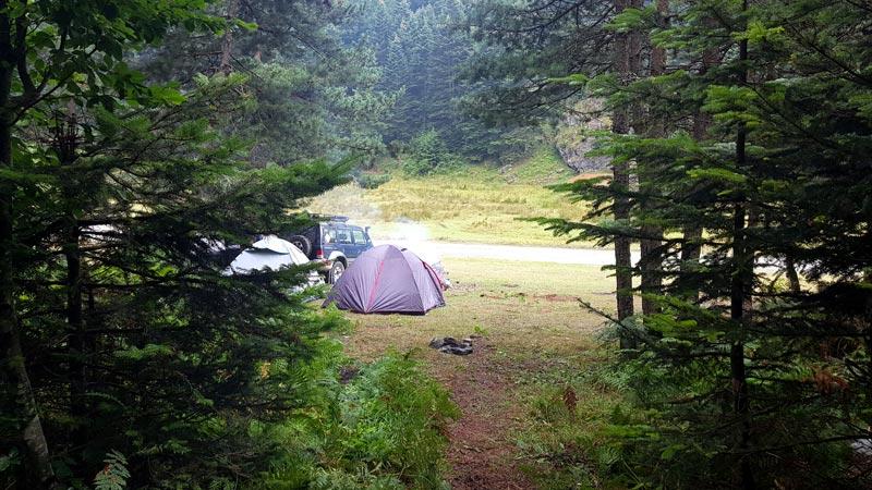 kartepe kamp yapılacak yerler