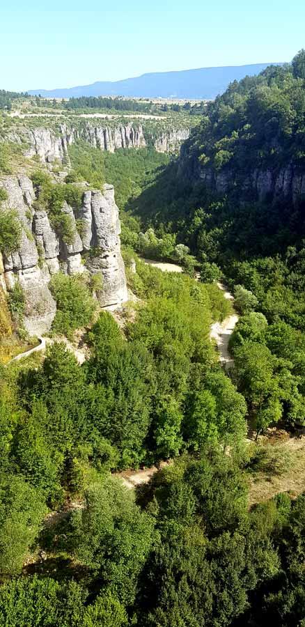 Cam teras tokatlı kanyonu