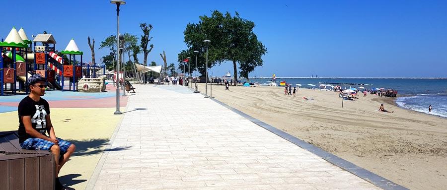 Karasu mavi bayraklı plajları