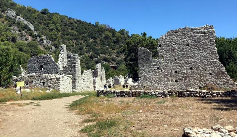 olimpos antik kenti giriş ücreti 2020