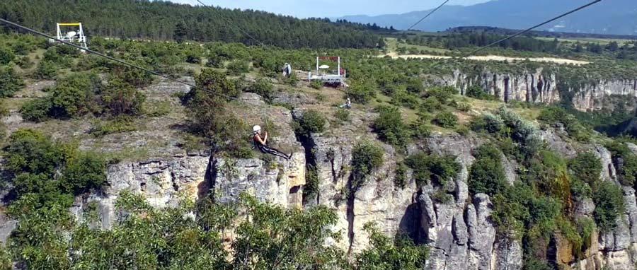 safranbolu tokatlı kanyonu zıpline