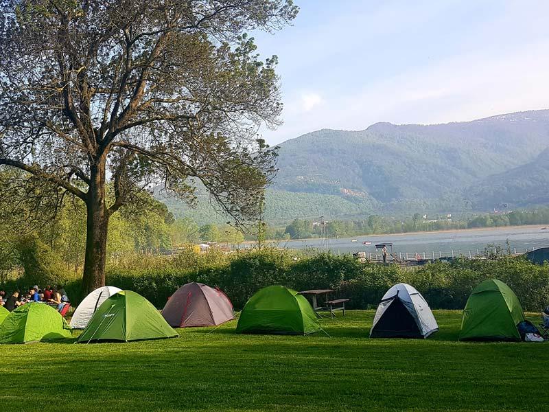 Kocaeli Seka Kamp Alanı Sapanca Gölü kampı