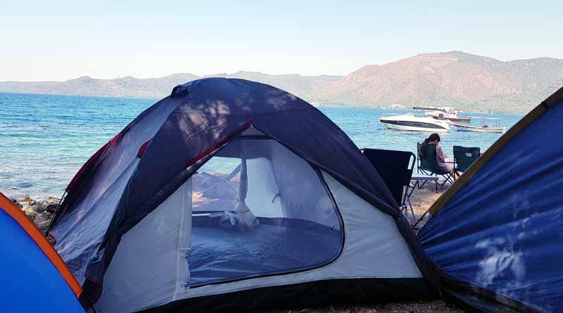marmaris kamp alanları ve hisarönü kampım