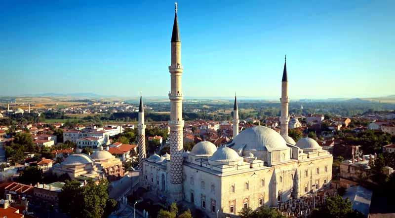 edirne gezilecek yerler üç şerefeli cami